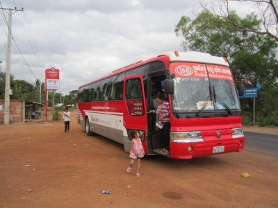 ハロー!カンボジア2012(4)シェムリアップ~プノンペン、陸路バス移動