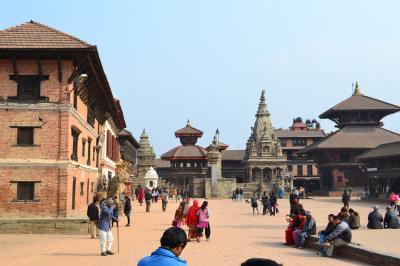 ネパール観光とジョムソントレッキング(その1)カトマンズー観光