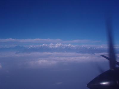 ネパール観光とジョムソントレッキング(その2)カトマンズーからポカラへ
