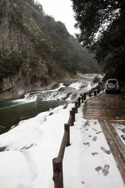 Solitary Journey [992] またまた雪国から…と言っても中国山地からです。<雪景色の中を断魚渓までドライブ~>島根県邑南町