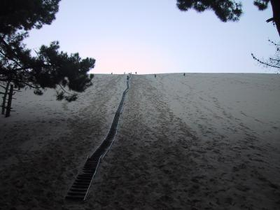 フランス一周貧乏キャンプ旅行 4:ボルドー、ピラ砂丘