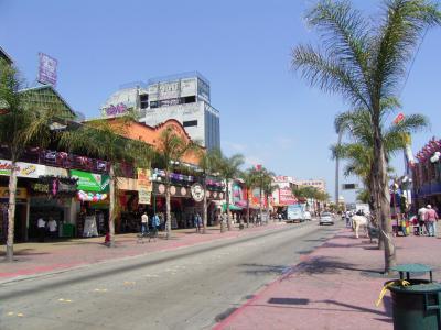 メキシコとサンチィアゴCoronado (アメリカ西海岸縦断 8日目)