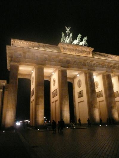 雨のベルリン、ドレースデン2011 ? クリスマスの夜