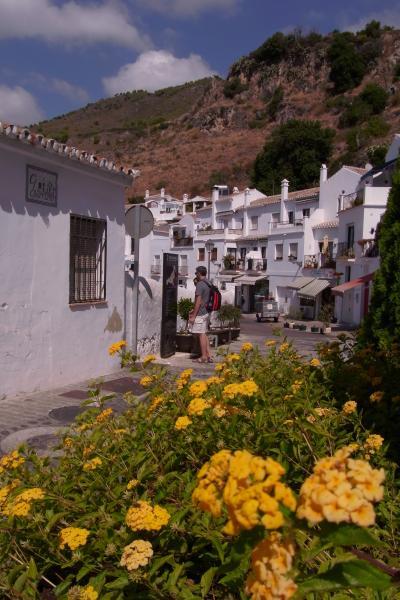 スペイン!② フリヒリアナ ネルハから行く白い街並み 2011年9月