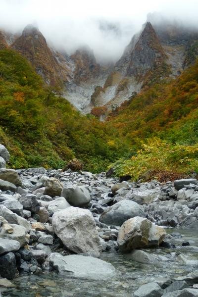 秋の谷川岳でトレッキング-1