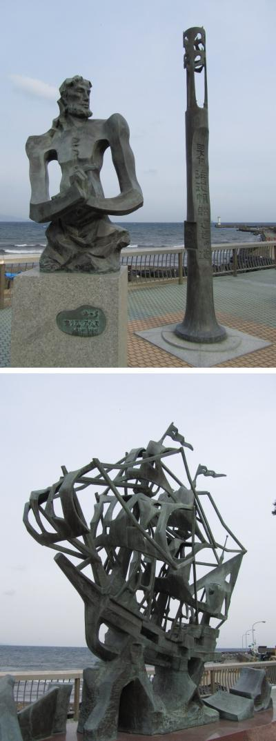 伊東温泉で、アートな散歩 【その1】 彫刻・モニュメント