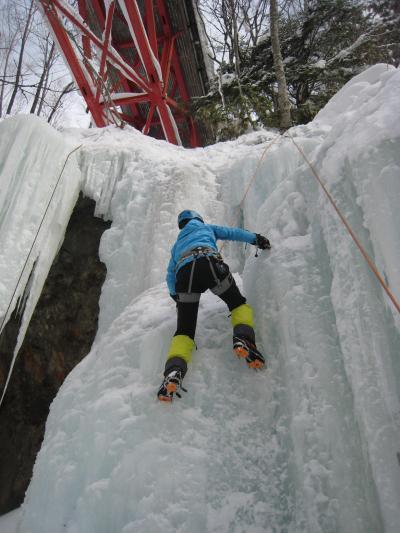 寒さなんてへっちゃらさ~! 濁河へアイスクライミングへGO!2012/02/05