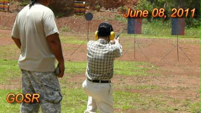 グアムでコンバットシューティング 射撃訓練!
