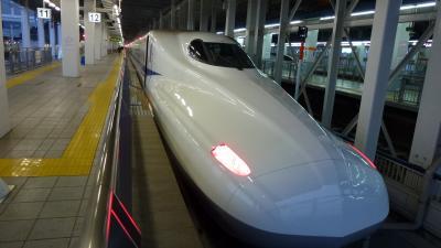 初の島根&鳥取2泊3日の旅【博多→新山口 のぞみ乗車編】(2012年2月)