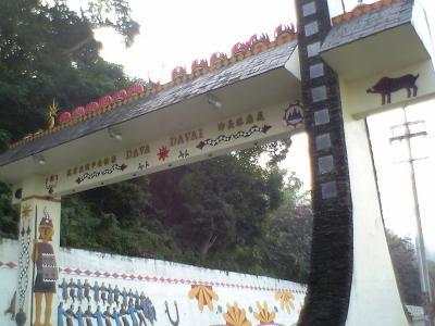 2007年 台湾南部の旅 7 三地門への道