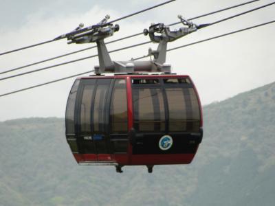 番外編 箱根のロープウェーは距離と高さでも有名ですが!!