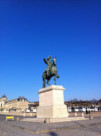初パリで暮らすように過ごした8日間~3日目・ヴェルサイユ編~