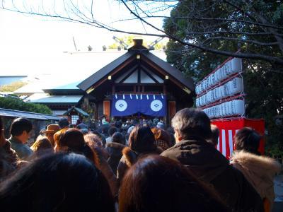 三が日参拝・東京大神宮と靖国神社/東京・飯田橋