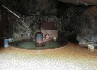 年末年始は「ホテル1−2−3(ワンツースリー)甲府・信玄温泉」に3泊4日。。。その4「十谷上湯温泉 源氏の湯」