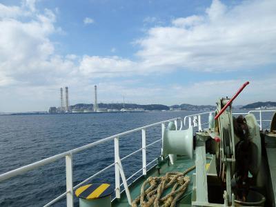 東京湾フェリーに乗船し 金谷港(千葉県)から~久里浜(神奈川県) 東京湾横断 クルーズの旅