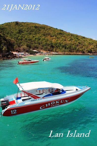 パタヤからボートでラン島へ!