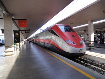 ツアーで巡る★イタリア大周遊(6日目‐① イタリアの新幹線、ユーロスター乗車体験)