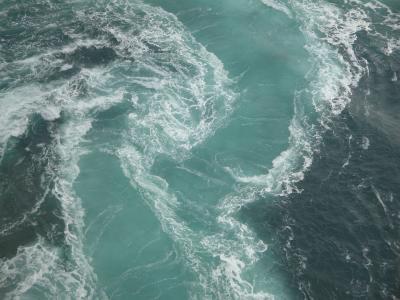 走行距離1000Kmの旅・・・②海上45mから眺める渦潮は絶景