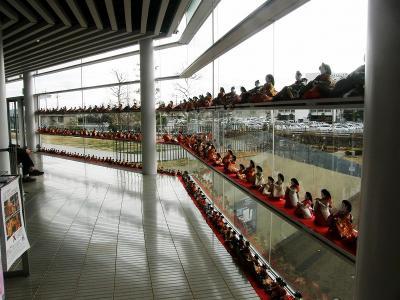 鴻巣びっくりひな祭り2012・・・③クレアこうのす・鴻巣市文化センター570体のひな飾り編