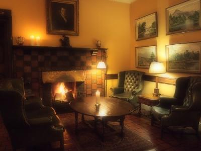 イギリス、アイルランド、フランス崖巡り一人旅(6)古城ホテルに泊まる