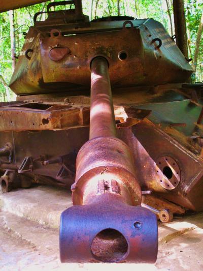 ベトナム22 クチトンネルa 激戦は雑木林の奥で ☆不撓不屈の抗戦ぶり