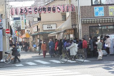 砂町銀座に行って来ました。