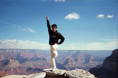 自然はすごいぜ! グランドキャニオン観光 2000年10月12日