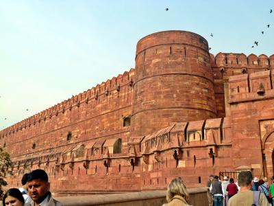 世界遺産のタージマハルが見たくてインドに行った。2(アグラ城へ行く)