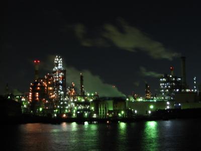 神奈川・川崎 工場夜景