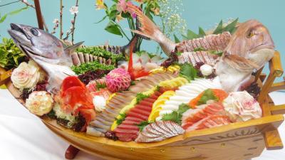 土佐のおきゃくレポ 2-4 豪華過ぎる南国土佐皿鉢祭り!