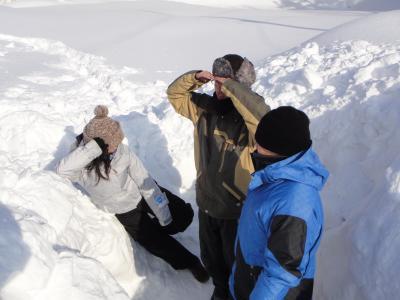 雪中キャンプ2012!!!
