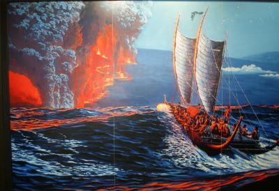 ハワイ4島クルーズ③ ハワイ島・ヒロ ペレの怒り