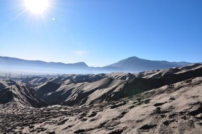 エアアジア格安ひとり旅(3-2) インドネシア/ブロモ山&イジェン火口湖 編