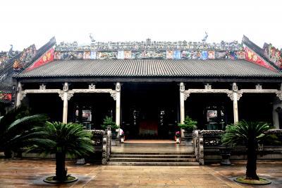 感動の旅ネパール(3) 広州 陳氏書院