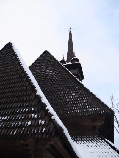 EE7 【ウクライナ】 - ザカルパッチャ・木造教会