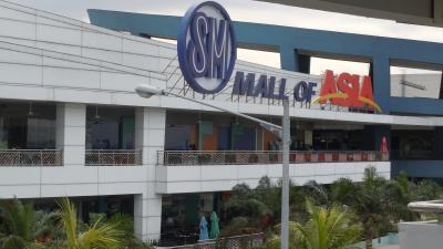 マニラの超巨大ショッピングモール モールオブアジア