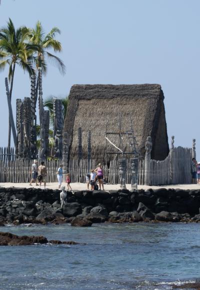 ハワイ4島クルーズ④ ハワイ島・コナ観光