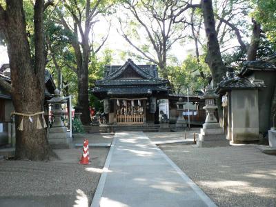 日本の旅 関西を歩く 大阪・守口市、高瀬神社(たかせじんじゃ)周辺