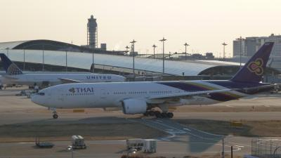 関西空港内で約4時間の時間潰し(2012年3月)