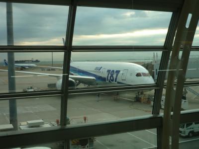 Discover Japan ボーイング787で岡山へ!! (1)ANA ボーイング787 プレミアムクラスに乗ってみた!