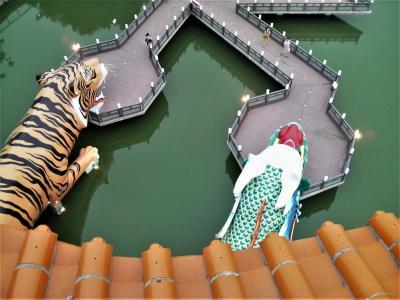 2009年 春の台東旅行 11 高雄捷運、高雄星辰飯店、龍虎塔