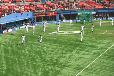 2012年初マリンフィールド観戦