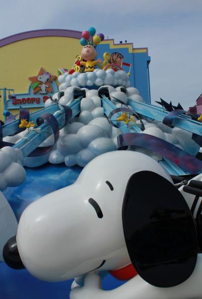 「ユニバーサル・ワンダーランド」(2012年3月オープン)に行って来たよ~! ユニバーサル・スタジオJAPAN ~ワンダーランドには、スヌーピーやエルモがいっぱい!~