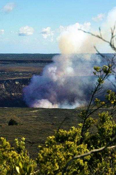 ハワイ諸島周遊ドライブ  ★ ハワイ火山国立公園周辺 ★