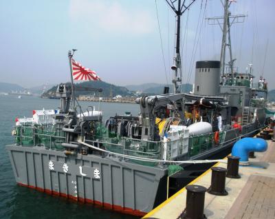 海上自衛隊掃海艇まきしま体験乗艦