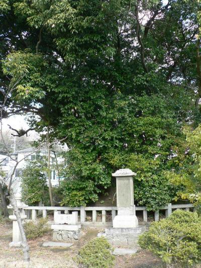 日本の旅 関西を歩く 大阪・高槻市、「能因塚」周辺