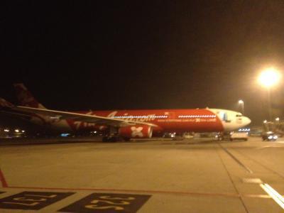 初AirAsia クアラルンプール