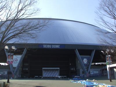 2012年初西武ドーム