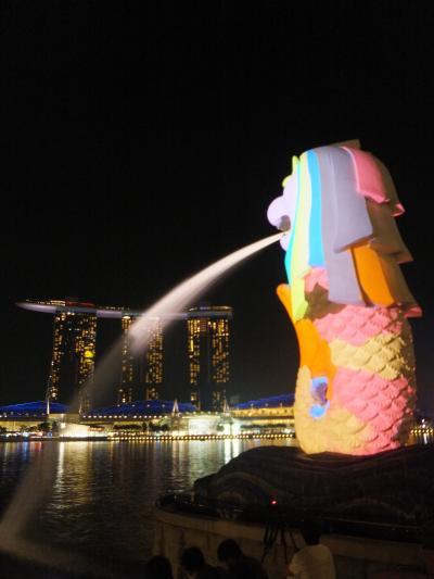 南の地に吹く優しい風【シンガポール】 Across the Sea★初東南アジア!マレー半島縦断の旅~1
