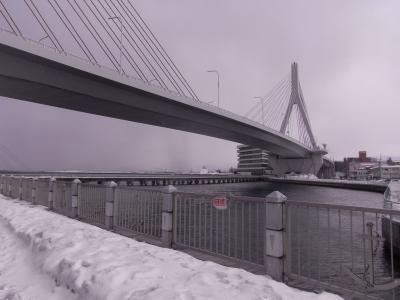 はやぶさでGO!青森鉄道旅行2012 3日目 寒風吹きすさぶ青森駅